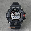 電波タフソーラー 20気圧防水 ワールドタイム CASIO カシオ G-SHOCKジーショック g-shockブラック メンズ 腕時計GW9400-1 RANG...