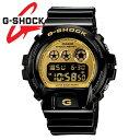 [送料無料]カシオ CASIO G-SHOCKDW6900CB-1 W6900CBG-ショック クレイジーカラーズ Crazy Colors ブラック/ゴールド メンズ腕時計 [あす楽] 時刻設定して