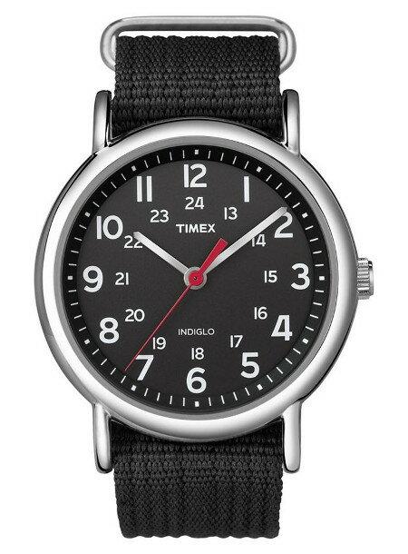 [ポイント2倍][売れ筋]TIMEX タイメックス 腕時計T2N647 ブラック ベルトメンズ サイズ ウィークエンダーセントラルパーク送料無料(一部地域除く)