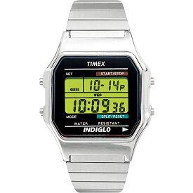 TIMEX 腕時計 メンズ レディース シルバー デジタル タイメックス T78587 レトロチック アメリカン プレゼント ギフト ウォッチ かっこいい おしゃれ