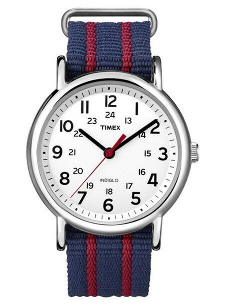 [あす楽]TIMEX タイメックス 腕時計ウィークエンダー ネイビー レッド ユニセックス(メンズ レディース) 腕時計 T2N747[送料無料/一部地域除く]