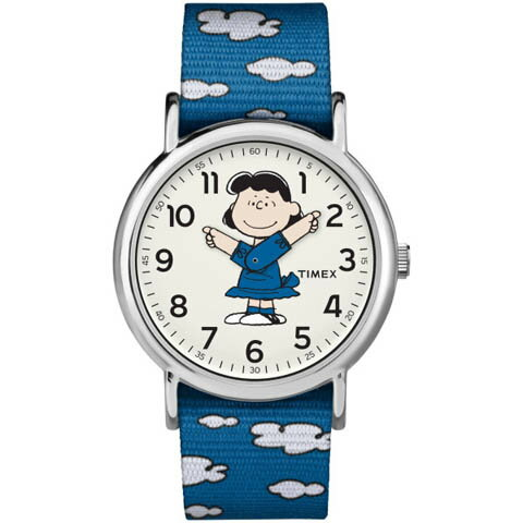 ルーシー ピーナッツ スヌーピー LUCY PEANUTS SNOOPY アメリカ限定 TIMEX タイメックス 腕時計 ウィークエンダー ユニセックス(レディース)腕時計 tw2r413 [送料無料/一部地域除く]