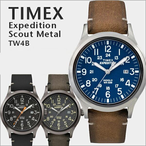 TIMEX EXPEDITION SCOUT META タイメックス ミリタリー エクスペディション 本革 メンズ腕時計 TW4B01700 / TW4B01800 / TW4B01900 レディース メンズ ユニセックス カジュアル 大人 シンプル