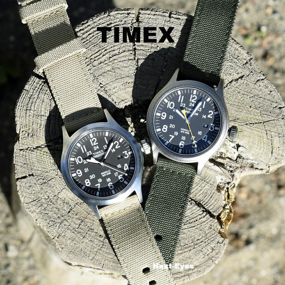 【送料無料】TIMEX タイメックス エクスペディション スカウト メタル EXPEDITION SCOUT METAL T49961 カーキグリーン T49962 カーキ ミリタリー 男性 メンズ 腕時計 アナログ クォーツ おしゃれ ミリタリー カジュアル ウォッチ