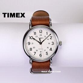 TIMEX タイメックス 腕時計 t2p495 ウィークエンダーセントラルパーク ブラウン 本革ベルト 40 メンズ レディース カジュアル ビジネス おしゃれ ギフト プレゼント バレンタイン きれい ファッション 男性 アナログ