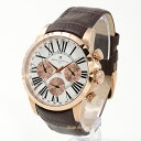 Salvatore MarraSM15103-PGWH本革ベルト メンズ 時計マルチファンクションカレンダー送料無料(一部地域除く)【あす楽】【ポイント10倍】