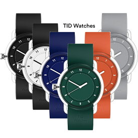【送料無料】TID WatchesティッドウォッチTID03 38mmBK/BK WH/BK BL/BL GR/GR OR/OR GY/GYスケルトンケース 全6色文字盤メンズ/レディース腕時計【日本正規品】