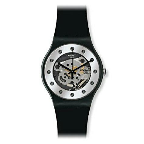 [送料無料][日本正規品]swatch(スウォッチ)SUOZ147 NEW GENTSILVER GLAMシルバーグラムメンズ 腕時計[あす楽][ポイント10倍]