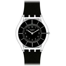 母の日 父の日 swatch(スウォッチ) SFK361 SKIN BLACK CLASSINESS ブラッククラシネス(日本正規品)腕時計 メンズ レディース 贈り物 プレゼント 誕生日 クリスマス