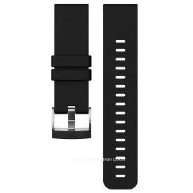 [送料無料] 国内正規品 SUUNTO スント SS021846000 ベルト [1年の製品保証付き] TRAVERSE BLACK STRAP トラバース ブラック ストラップ [メール便で発送]