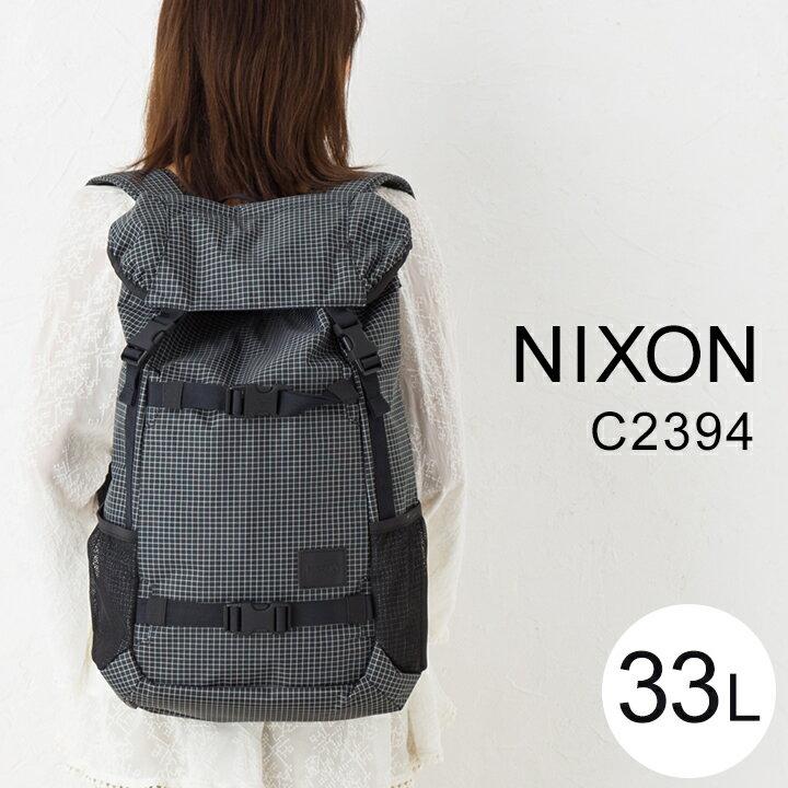nixon ニクソン C2394 Land lock SE BACKPACK ランドロック 通勤 通学 スーツ カジュアル メンズ レディース リュック バックパック デイバッグ