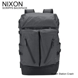 nixon【国内正規品】ニクソン SCRIPPS スクリプス バックパック C2949000-00 オールブラック 25L シューズ スペース リュック ジム アウトドア スケート ストリート カジュアル メンズ レディース