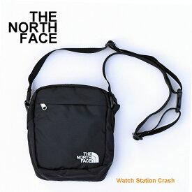 THE NORTH FACE ショルダーバッグ 斜め掛け ポシェット NF0A3BXB ザ・ノース・フェイス ブラック メンズ レディース 手回り品を入れて ストレスフリー