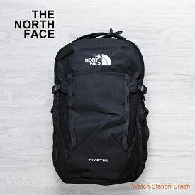 THE NORTH FACE リック ノースフェイス バックパック 29L オーガナイズ ブラック メンズ レディース NF0A3VXD PIVOTER ブランド シンプル 機能的 アウトドア タウンユース