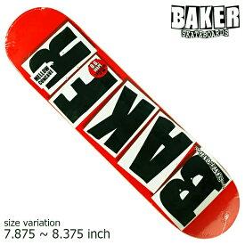 BAKER BRAND LOGO BLACK 7.875 8.375 デッキ ベイカー ベーカー スケボー SKATEBOARD スケートボード ブランドロゴ