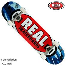 REALRSTEAMOVALHEATWAVEコンプリートスケートボードキッズサイズ