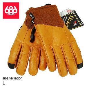 686 GORETEX THERREM GLOBE COPPER LEATHER グローブ 手袋 GLOVE ロクハチロク シックスエイトシックス スノーボード スノボー