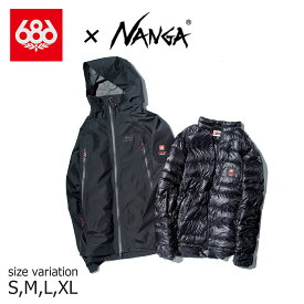 20-21 686 NANGA GRTX PACLITE SMARTY JACKET BLACK スノーボード シックスエイトシックス ロクハチロク ナンガ スノーウェア スノボー ジャケット wear