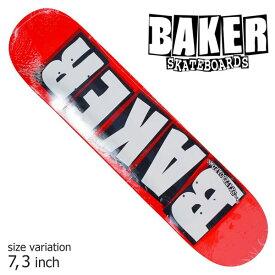 BAKER DECK デッキ ベイカー BRAND LOGO WHITE MINI 7.3 スケボー アンドリュー レイノルズ キッズ スケボー