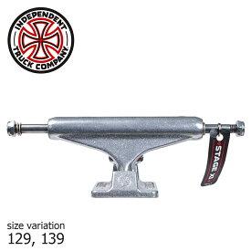 INDEPENDENT TRUCK インディペンデント トラック Polished standard stage 11 スケートボード パーツ スケボー インディー 最新 SILVER