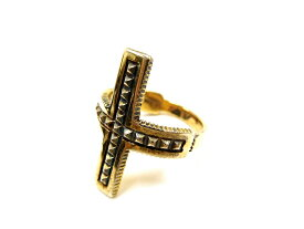 "nonnative ノンネイティブ DWELLER RING ""CROSS"" 925 SILVER by END シルバーリング 指輪 17号(MO20160826-15)、19号(MO20160826-16)、21号(MO20160826-17) /SALE"