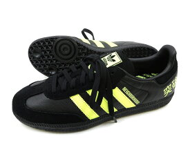 adidas アディダス x NEIGHBORHOOD ネイバーフッド SAMBA F35867 スニーカー シューズ / ブラック×イエロー / US8.5(ym181018-1)・US9(ym181018-2)・US9.5(ym181018-3)・US10(ym181018-4)