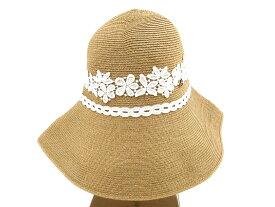 Athena New York アシーナ ニューヨーク AMACA アマカ ANY Alexa Special Hat ホワイトレース ハット 麦わら帽子 UV /ka20180417-8 /レディース