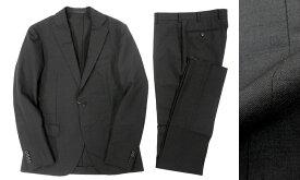 定価14万 MACKINTOSH LONDON マッキントッシュ ロンドン サマーウール スーツ セットアップ ブラック /ka20180717-6 /メンズ