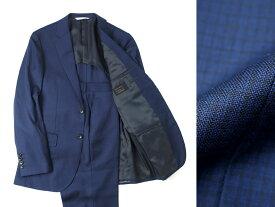 日本製 定価8.6万 D'URBAN ダーバン Loro Piana製生地 マイクロチェック 2B シングルスーツ ジャケット パンツ A5/ar190108_3w AB7/ar190108_4w