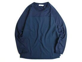 nonnative ノンネイティブ CYCLIST L/S TEE POLY MESH 長袖Tシャツ カットソー 定価1.6万 日本製 ネイビー 1-01 2-02 3-03▲040▼90628k08