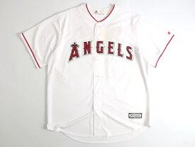 Majestic マジェスティック MLB メジャーリーグ ベースボール Los Angeles Angels ロサンゼルスエンゼルス COOL BASE OHTANI 大谷翔平選手 17 HOME プレイヤー レプリカ ユニフォーム 野球 定1.7万 ホワイト S-01 M-02 L-03 XL-04▲025▼00109k16