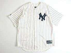 Majestic マジェスティック MLB メジャーリーグ ベースボール NEW YORK YANKEES ニューヨーク ヤンキース TANAKA 田中将大選手 19 HOME プレイヤー レプリカ ユニフォーム 野球 定1.7万 ホワイト S-01 M-02 L-03 XL-04▲025▼00110k01
