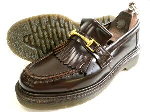 Loake ローク 英国製 グッドイヤーウェルテッド製法 本革 ポリッシュドレザー キルト ビットローファー 革靴 ブラウン 6-01 6.5-02 7-03 7.5-04 8-05 8.5-06▲032▼10528k05