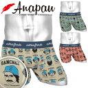 Anapau/アナパウ ボクサーパンツ メンズ 日本製 国産 アンダーウェア 下着 ベースボール キャラクター おしゃれ かっ…