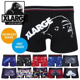 X-LARGE/エクストララージ ボクサーパンツ メンズ アンダーウェア 下着 ゴリラ ツルツル 綿 かっこいい おしゃれ ブランド 男性 プレゼント プチギフト 誕生日プレゼント 彼氏 父 ギフト 記念日