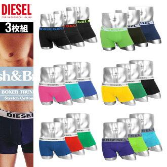 DIESEL/ diesel men boxer underwear popularity profit fashion gift brand man underwear birthday present boyfriend father