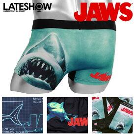 JAWS/ジョーズ×LATESHOW/レイトショー ボクサーパンツ メンズ 下着 コラボ キャラクター 映画 オシャレ かわいい かっこいい プチギフト 誕生日プレゼント 彼氏 父 男性 旦那 ギフト 送料無料 記念日