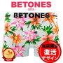 BETONES/ビトーンズボクサーパンツメンズ下着RITA花柄かわいい立体成型フリーサイズシームレス機能性誕生日プレゼント彼氏父男性ギフト