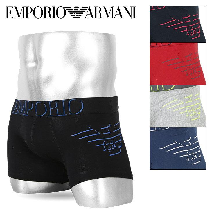 エンポリオ アルマーニ ボクサーパンツ メンズ 下着 EMPORIO ARMANI 3D PRINT オシャレ 綿 ブランド ロゴ プチギフト 誕生日プレゼント 彼氏 父の日 男性 ギフト 送料無料