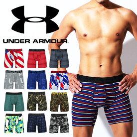 UNDER ARMOUR アンダーアーマー ロングボクサーパンツ メンズ 下着 UA Tech かっこいい ツルツル おしゃれ ブランド 男性 プレゼント プチギフト 夏物 誕生日プレゼント 彼氏 父 ギフト 記念日