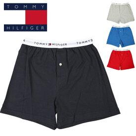 トミーヒルフィガー トランクス メンズ 下着 パンツ TOMMY HILFIGER tommyknit 無地 ロゴ ブランド プチギフト 誕生日プレゼント 夏物 彼氏 父 男性 ギフト 記念日 おしゃれ