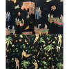 obazatuerubusettoappumenzushirukushatsu&短裤上下安排OVER THE TWELVE翻领衬衣夏威夷衬衫短裤OTT房服装室内便服总花纹打扮的可爱的名牌微型礼物生日礼物男朋友父亲男性礼物纪念日