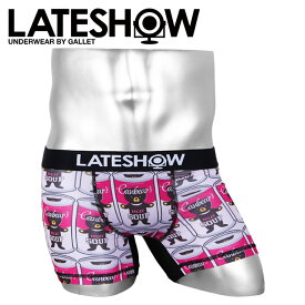 LATESHOW レイトショー ボクサーパンツ メンズ 下着 アンダーウェア おしゃれ かわいい BEAR クマ ブランド 男性 プレゼント プチギフト 誕生日プレゼント 彼氏 父 ギフト 記念日
