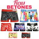 BETONES/ビトーンズ×FICUS/フィークス ボクサーパンツ メンズ レディース 下着 パンツ インナー ショーツ コラボ 限…