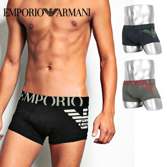 EMPORIO ARMANI / Emporio Armani BIG EAGLE PRINTED STRETCH COTTON men's Boxer shorts Gifts Christmas gifts