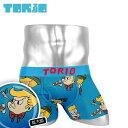 TORIO/トリオ ボクサーパンツ メンズ 下着 前開き ピノキオ キャラクター オシャレ かわいい プチギフト 誕生日プレゼ…