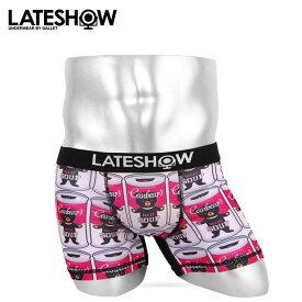 LATESHOW/レイトショー ボクサーパンツ メンズ 下着 ベアー クマ オシャレ かわいい プチギフト 誕生日プレゼント 彼氏 父 男性 旦那 ギフト 送料無料
