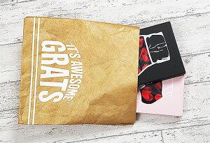 ギフトバッグタイベックオシャレ紙袋ラッピングギフト用誕生日クリスマスバレンタインプレゼント彼氏彼女父男性女性ギフトクラッチバッグ不織布