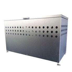 メタルテック ダストボックス DST-1100【ゴミ箱 大容量 ふた付き 屋外 カラス 猫 対策】