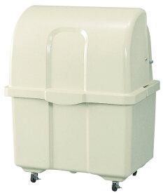 カイスイマレン ジャンボペールHG400C(キャスター付き)【容量400L 45Lゴミ袋9個相当 約6世帯 大型ゴミ箱 ゴミステーション FRP製 キャスター付き アイボリー】